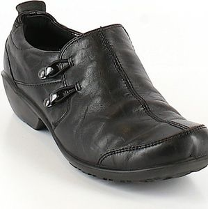 Romika City Light leather clogs / mules